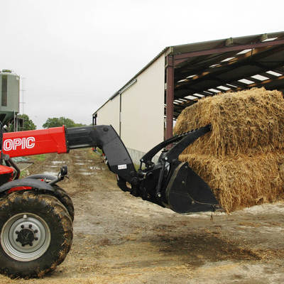 Godet multifonctions agricole FO Manitou CBG2100 FO - 4
