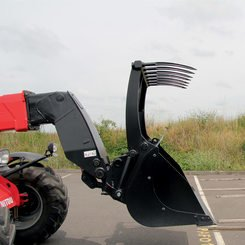 Godet multifonctions agricole FO Manitou CBG2300 FO - 4
